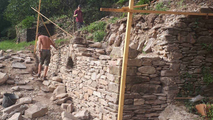 Le patrimoine cévenol mis en valeur à l'entrée du village